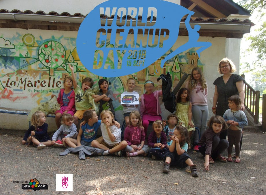 La Marelle participe au World Clean Up Day
